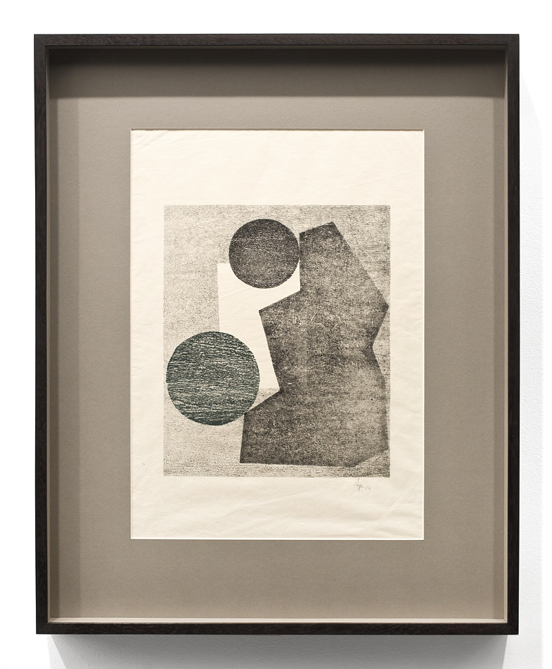 Untitled, from the Tecelar series | 1954 | Woodcut on Japanese paper | 45 x 33 cm (frame 62 x 50 cm)